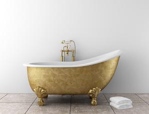 L installation d une baignoire lot