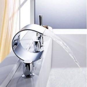 La robinetterie baignoire