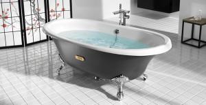 le materiaux de baignoire ilot